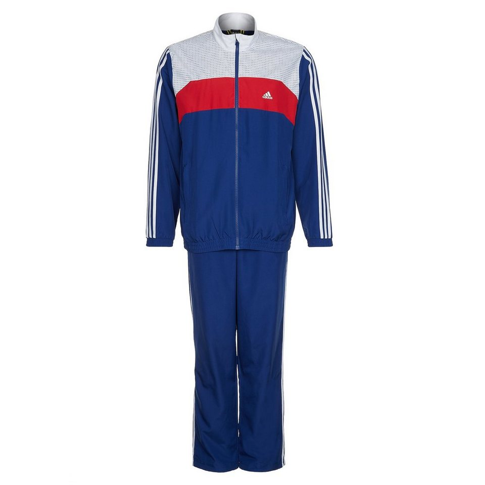 adidas performance set tracksuit woven trainingsanzug. Black Bedroom Furniture Sets. Home Design Ideas