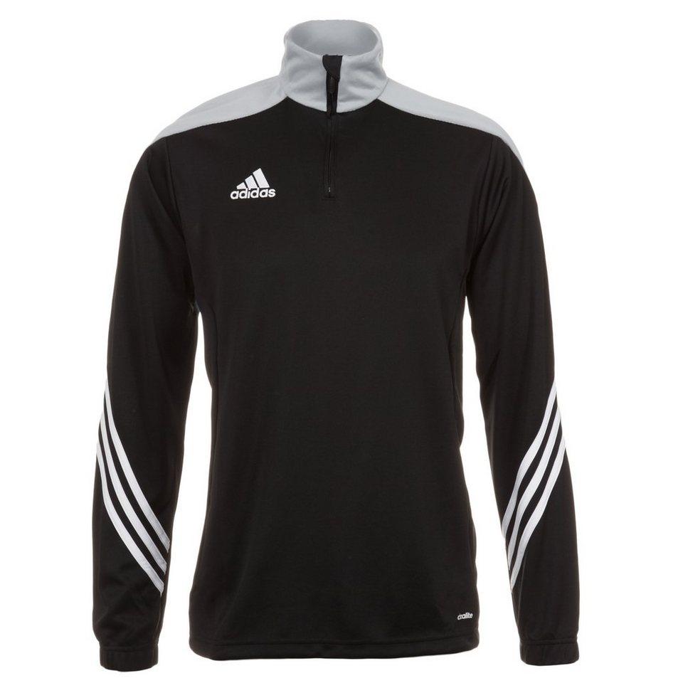 adidas Performance Sereno 14 Trainingssweat Herren in schwarz / silber