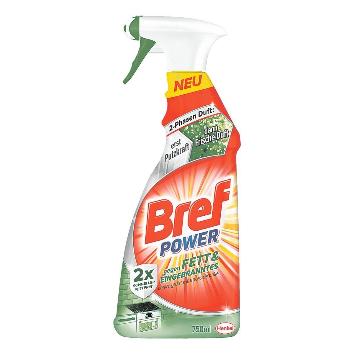 Henkel 8 Flaschen Fettlöser »Bref Power«