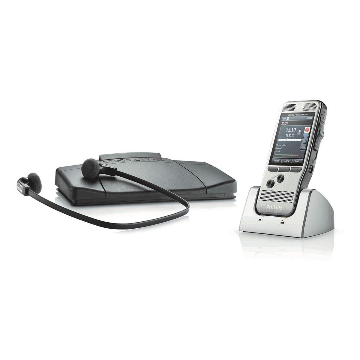 Philips Diktiergeräte-Set »Pocket Memo 7270«