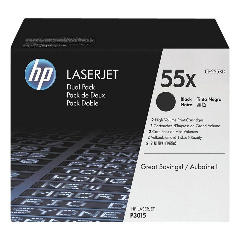 HP Doppelpack Druckkassetten »HP CE255XD« HP 55X