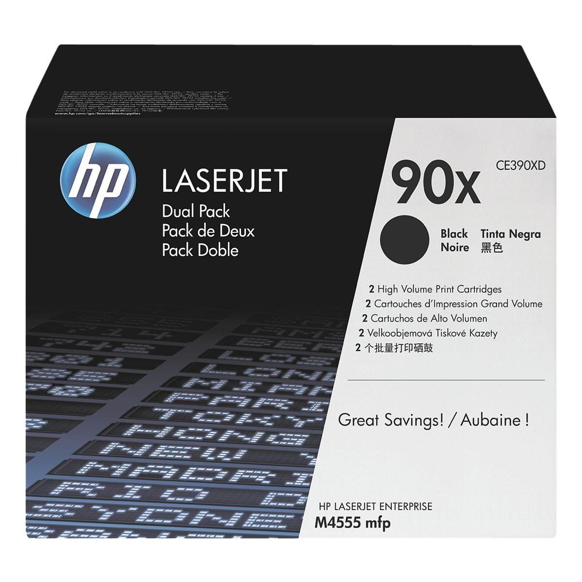 HP Doppelpack Druckkassetten »HP CE390XD« HP 90X