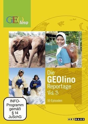 DVD »Die Geolino Reportage, Vol. 3, 10 Episoden«