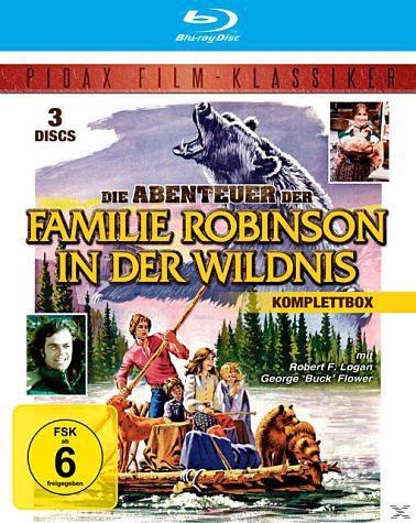 Blu-ray »Die Abenteuer der Familie Robinson in der...«