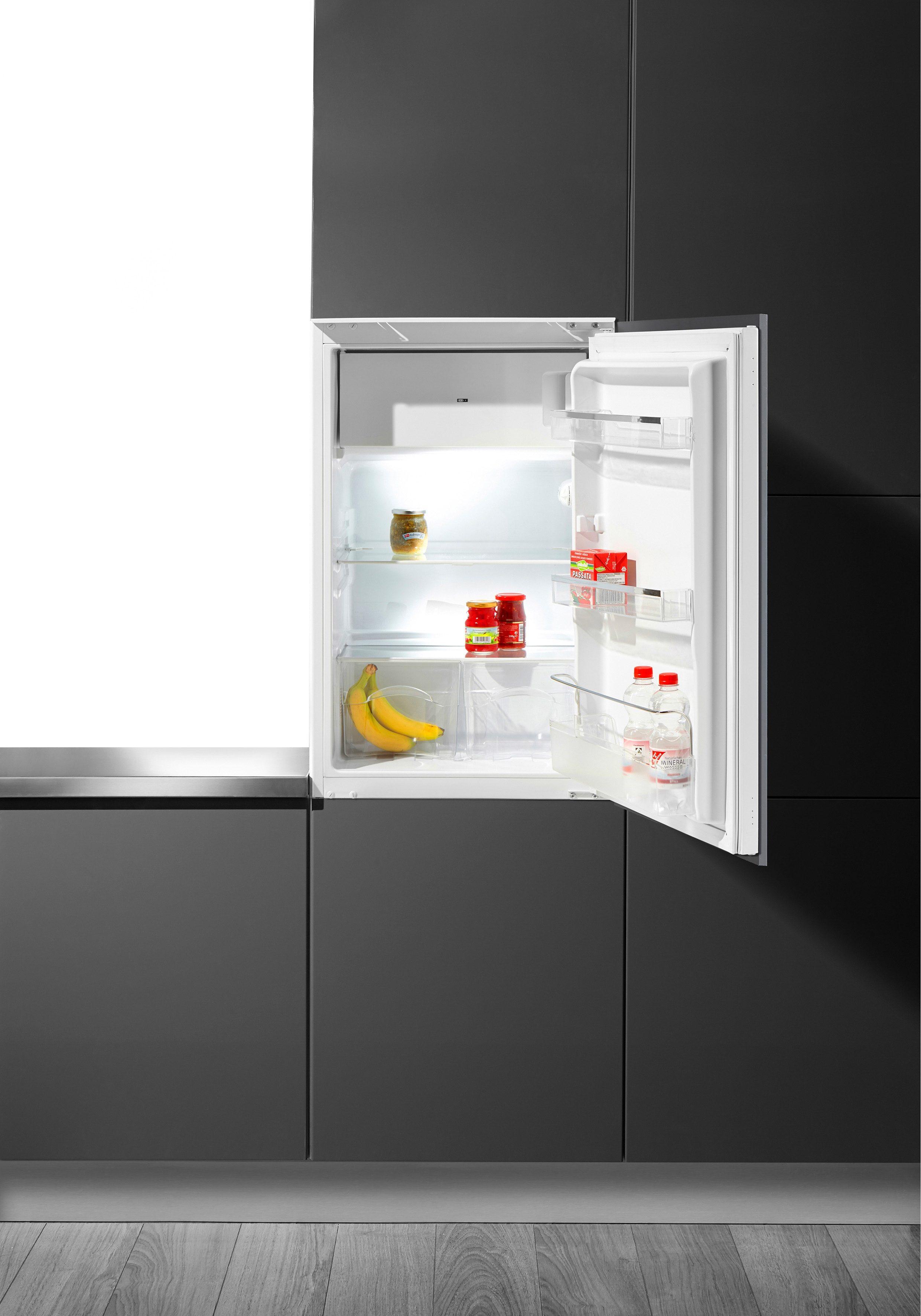 Hanseatic Einbaukühlschrank HEKS 8854GA2, A++, 88 cm hoch
