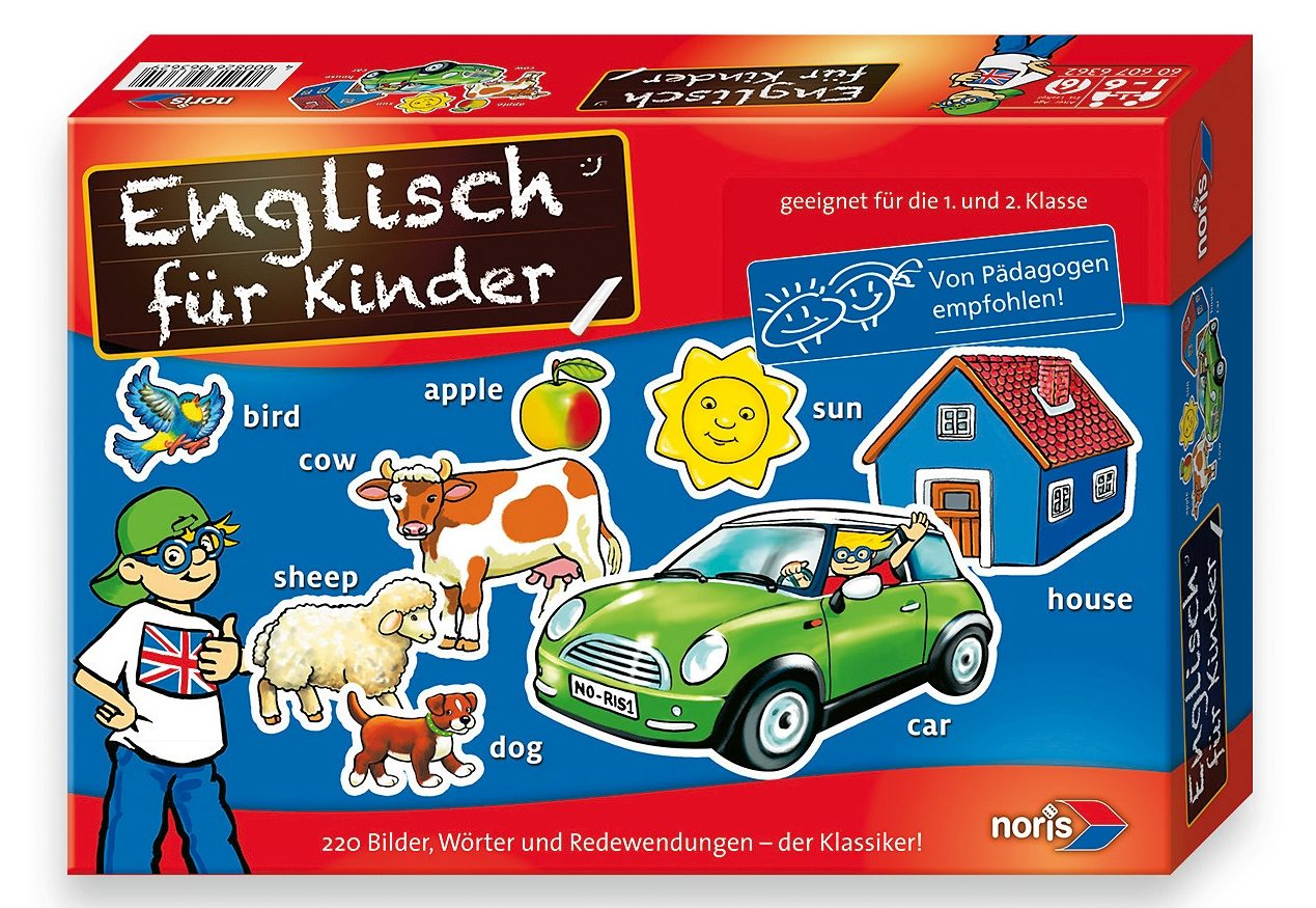 Noris, Lernspiel, »Englisch für Kinder«