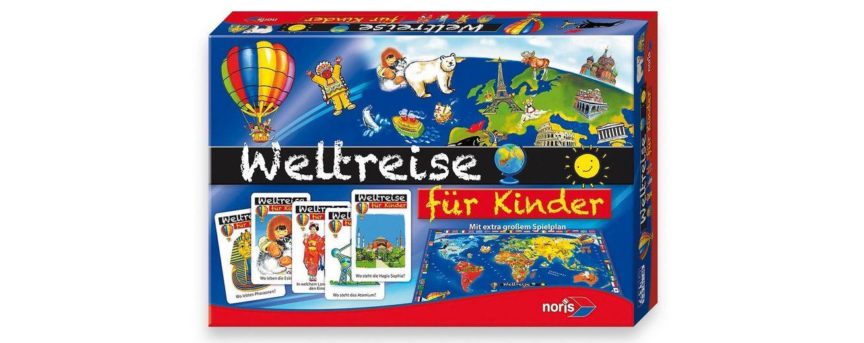 Quizspiel für Kinder, »Kinder Weltreise«, Noris