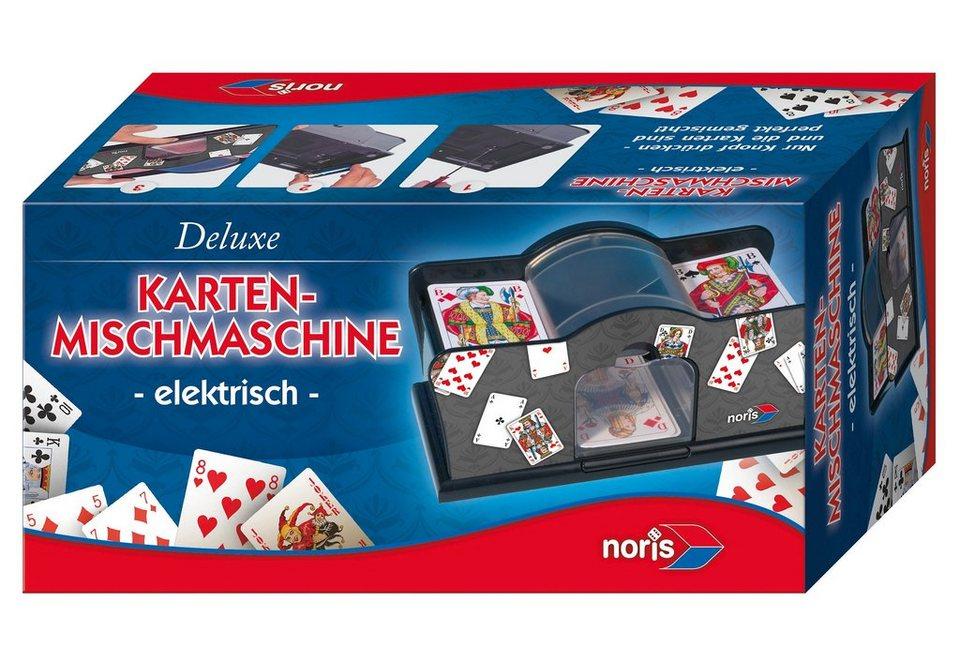 Noris, Karten Mischmaschine, »Deluxe Karten-Mischmaschine«