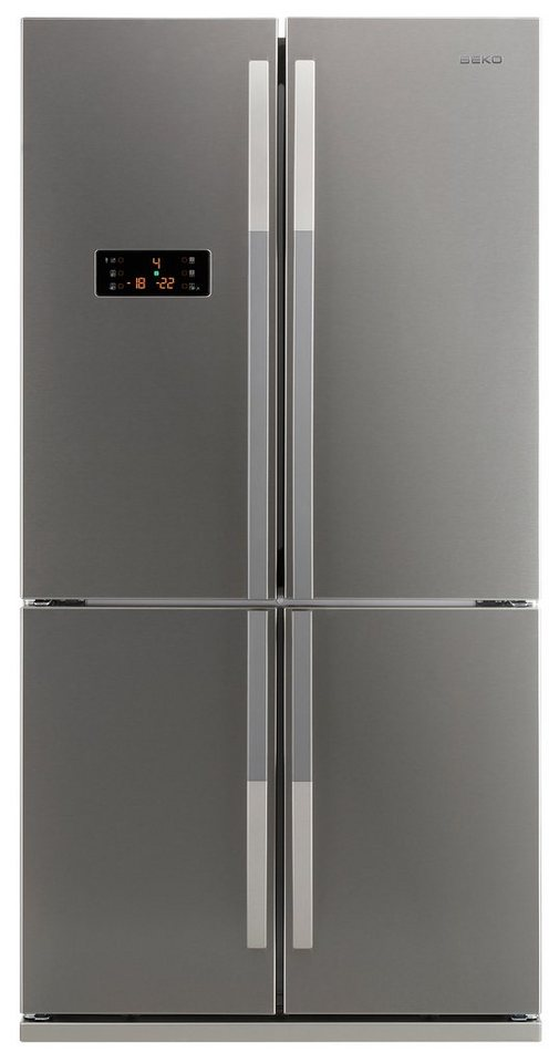Beko Side by Side GNE 114612 X, A+, 184,5 cm hoch in Edelstahl Fingerprint Free