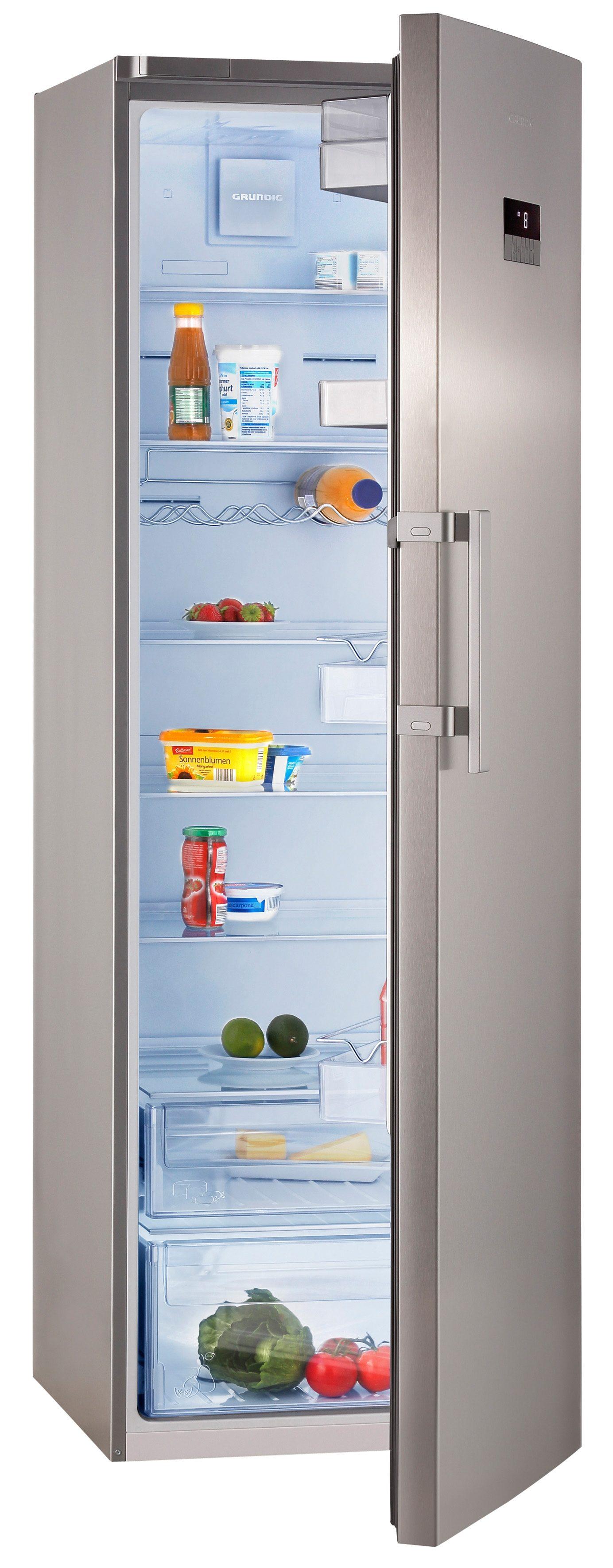 Grundig Kühlschrank GSN 10720 X, A++, 185 cm hoch