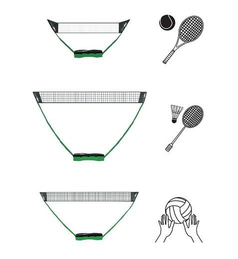 3in1 Netz, »SP-NET-031«, Sportplus, für Soft-/Fußball-Tennis, Badminton und Volleyball