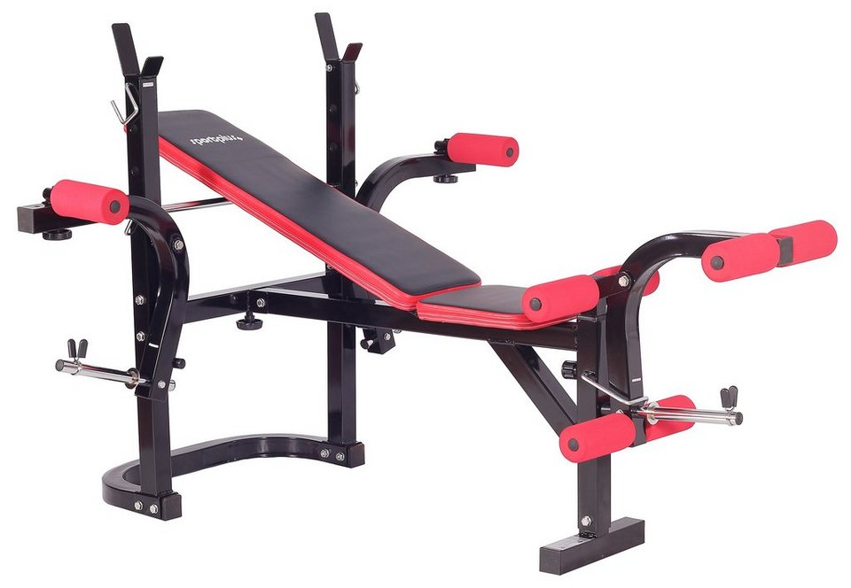 hantelbank weight bench sp wb 001 b sportplus otto. Black Bedroom Furniture Sets. Home Design Ideas