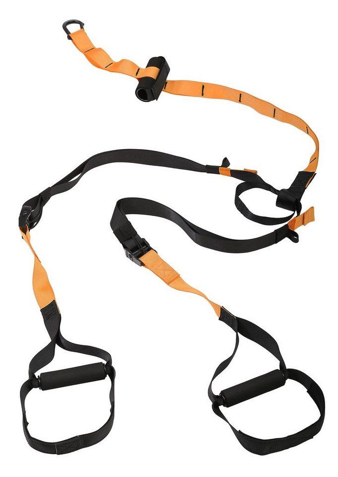 Schlingentrainer, »Sling Trainer SP-TX-001«, Sportplus in Orange/Schwarz
