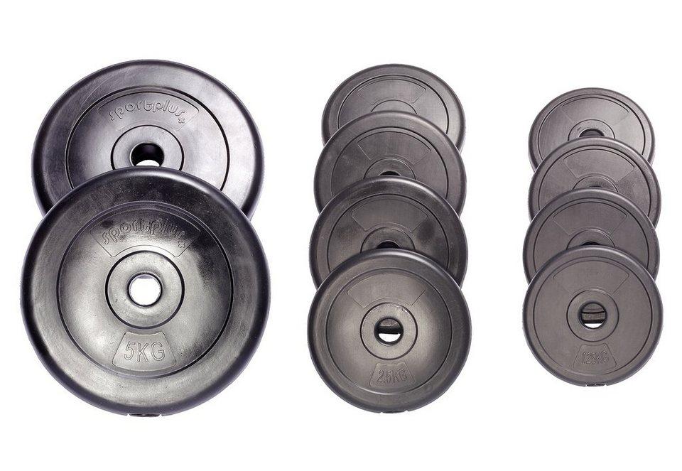Hantelscheiben-Set, »SP-WS-025-V«, Sportplus, 25 kg in Schwarz