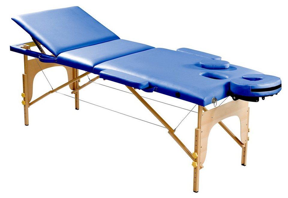 Massageliege, »SP-MAS-001-K«, Sportplus in Blau