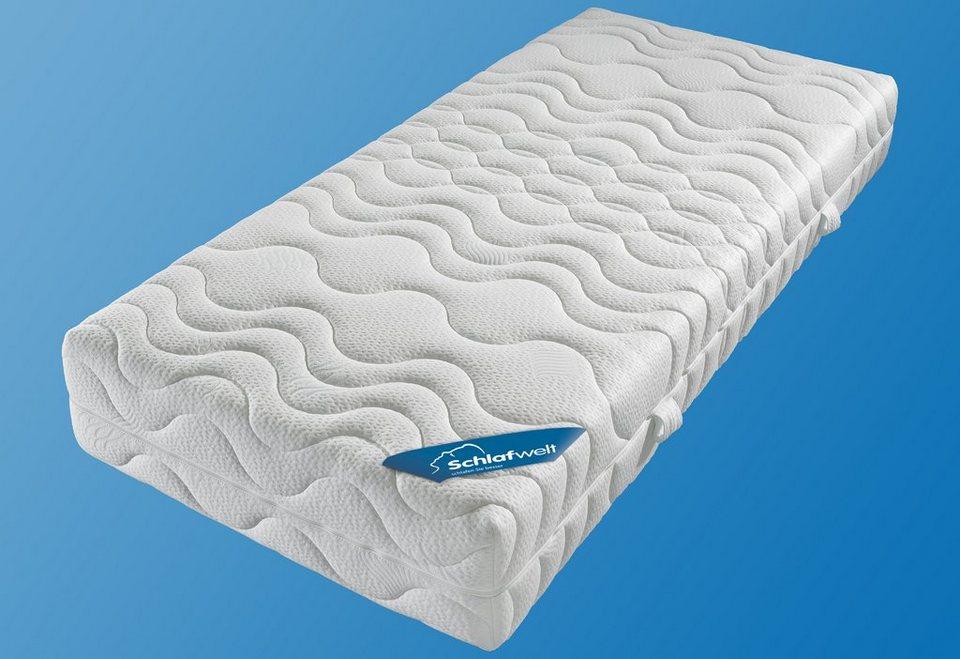 komfortschaummatratze ks luxus schlafwelt 27 cm hoch raumgewicht 35 1 tlg extra hoch. Black Bedroom Furniture Sets. Home Design Ideas
