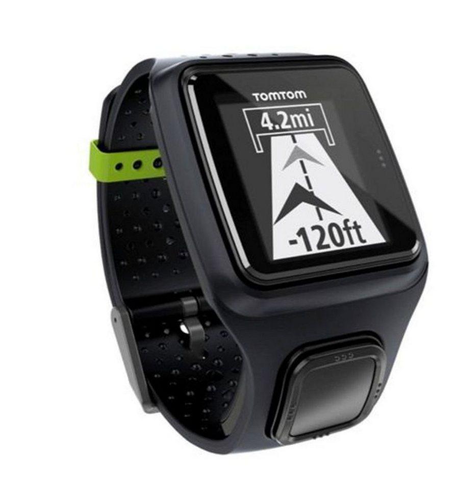 TomTom Sportuhr »RUNNER GPS Uhr in Schwarz« in Schwarz