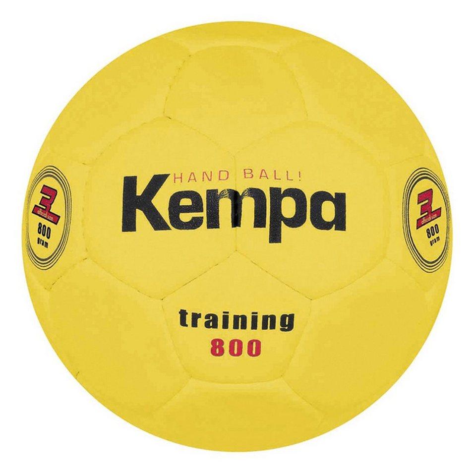KEMPA Training 800 Handball in gelb