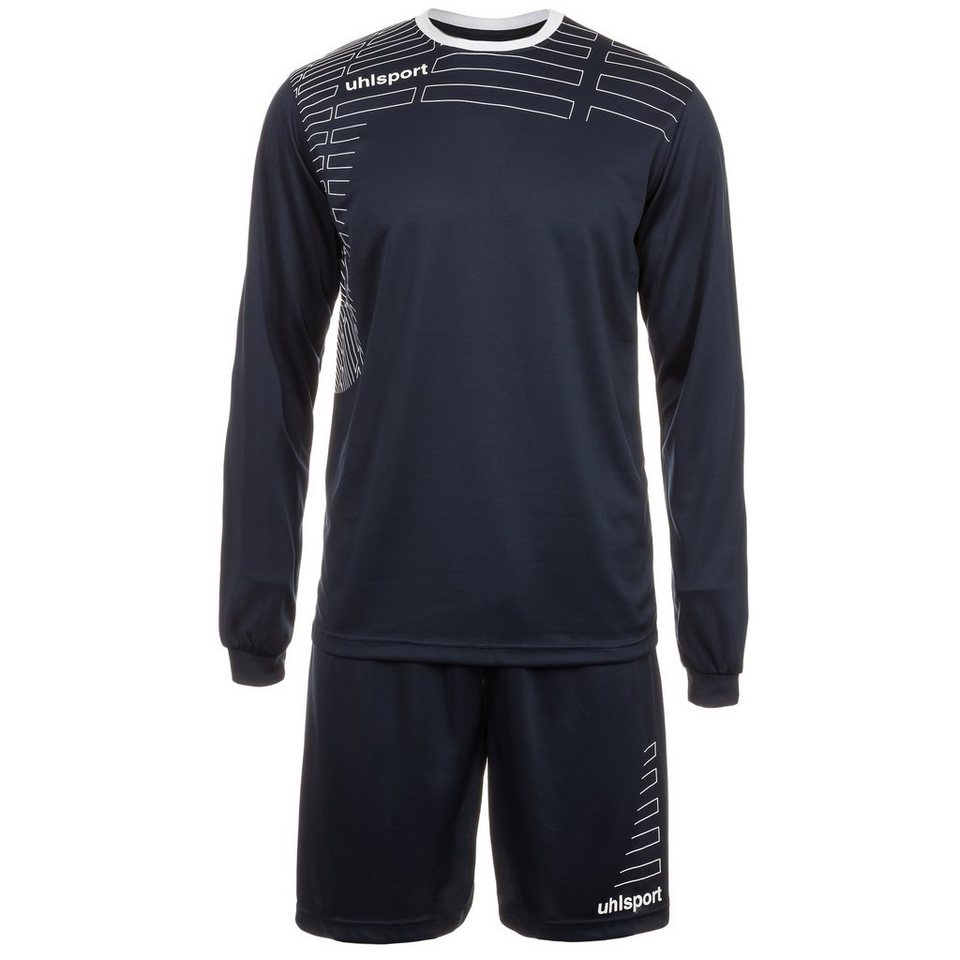 UHLSPORT Match Team Kit Longsleeve Herren in marine/weiß