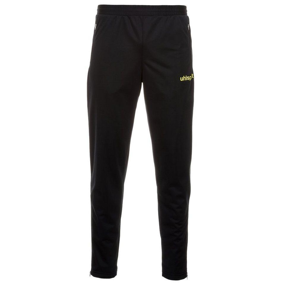 UHLSPORT Match Classic Hose Herren in schwarz/limonen gelb