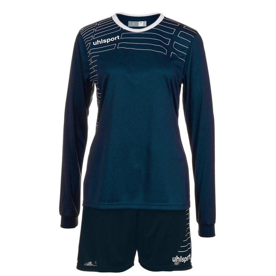 UHLSPORT Match Team Kit Longsleeve Damen in marine/weiß