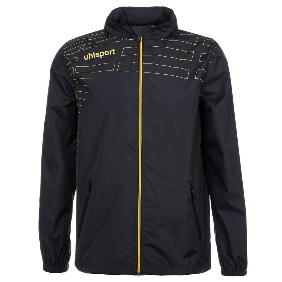 UHLSPORT Match Allwetterjacke Herren in schwarz/gold