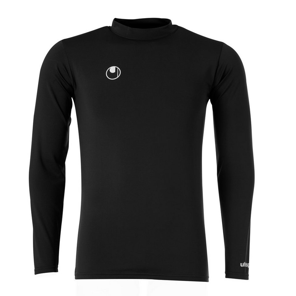 UHLSPORT Funktionsshirt Langarm Kinder in schwarz