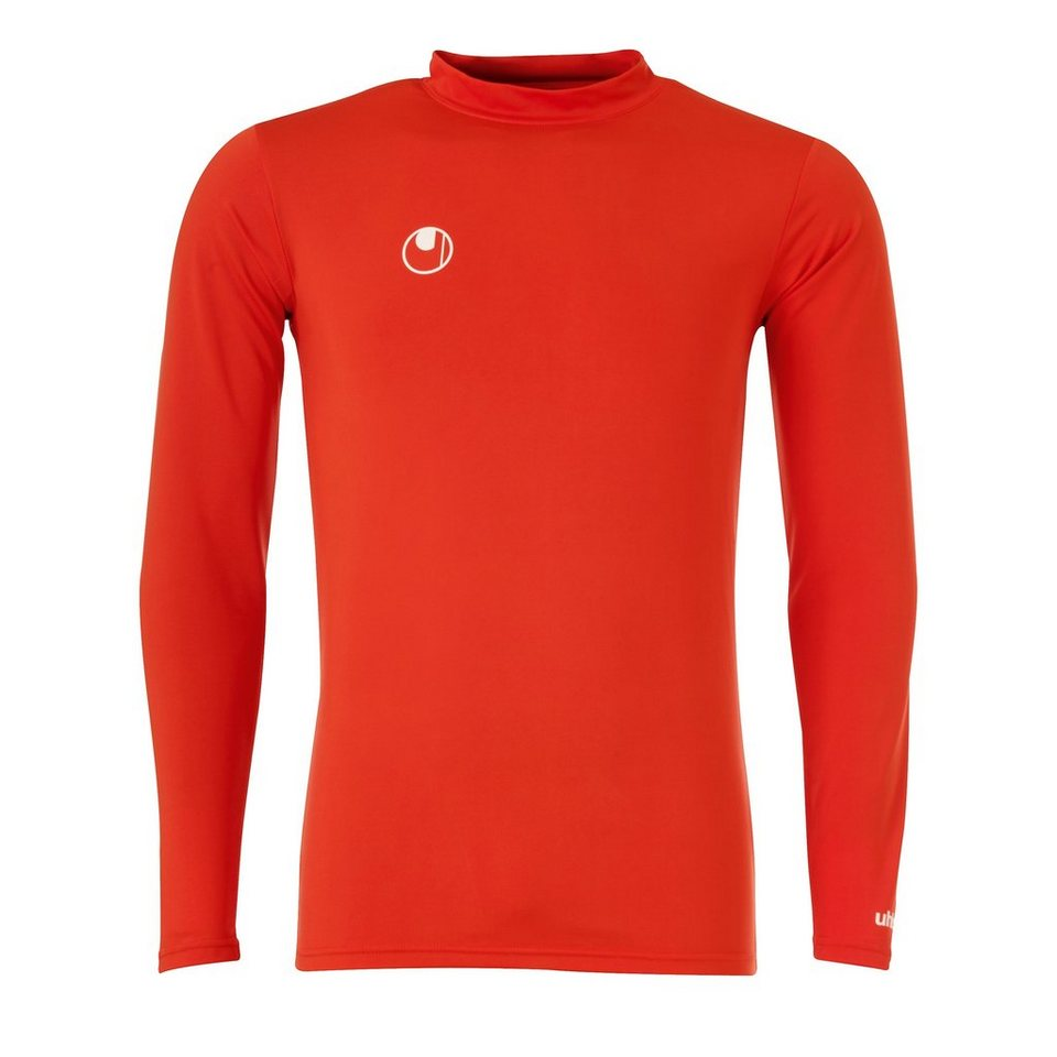 UHLSPORT Funktionsshirt Langarm Kinder in rot