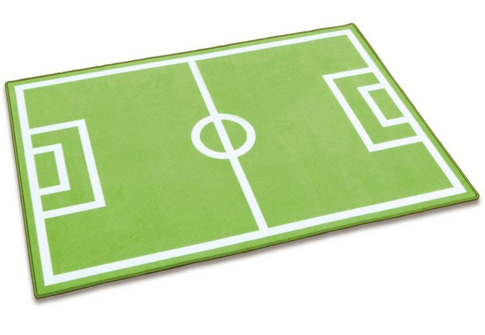 Spielteppich, »Fußball«, Erzi in grün
