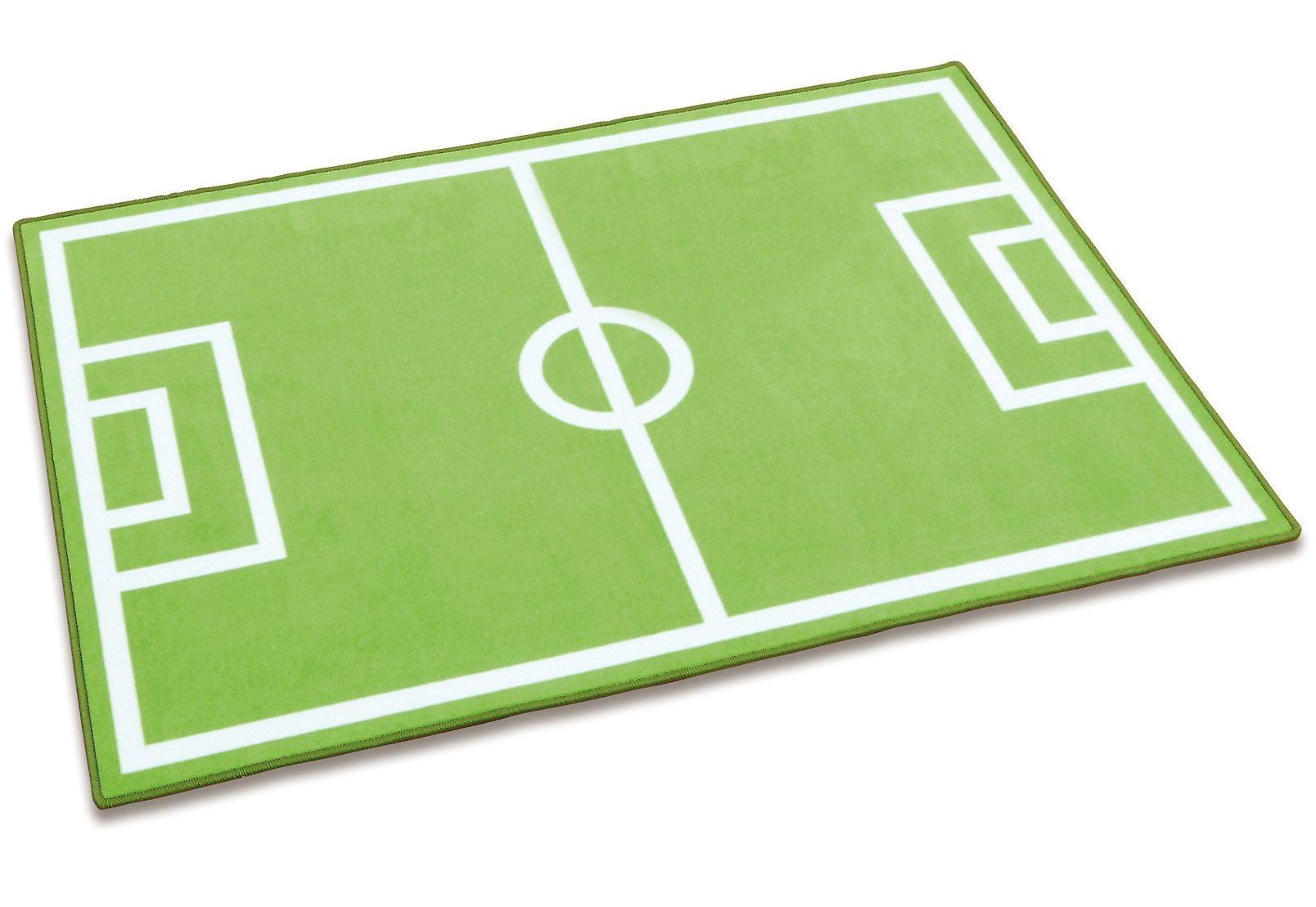 Spielteppich, »Fußball«, Erzi