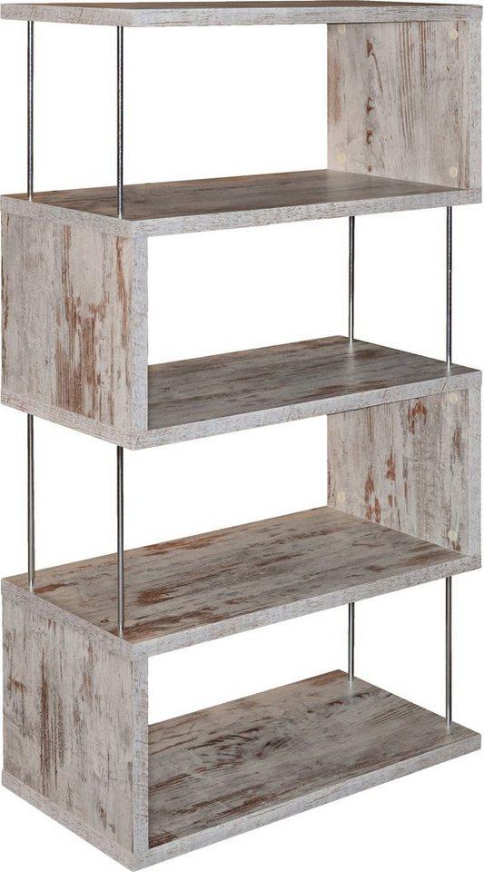 m usbacher regal luna 66 cm breite auch als raumteiler nutzbar online kaufen otto. Black Bedroom Furniture Sets. Home Design Ideas
