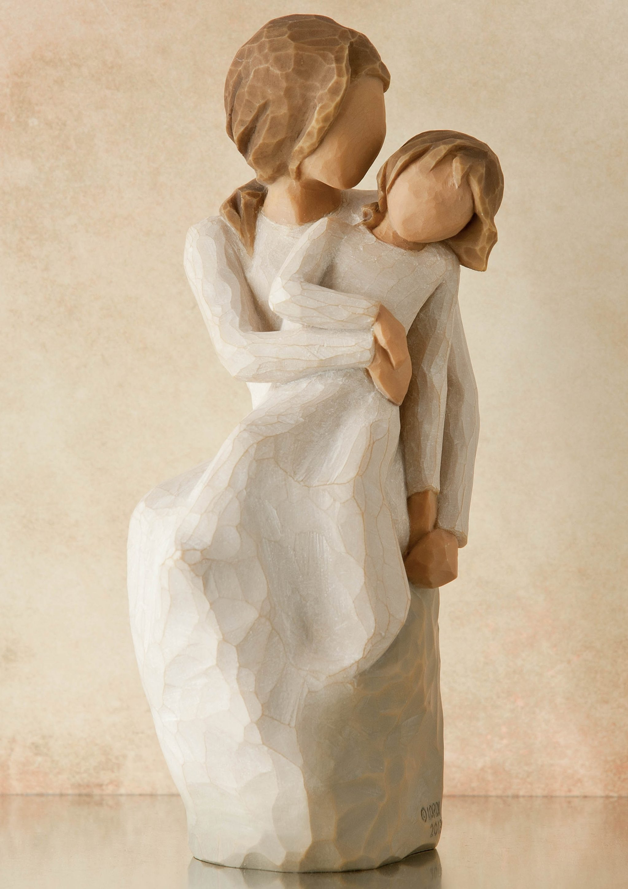 Figur, »Mutter, Tochter - Mother, Daughter«, Willow Tree