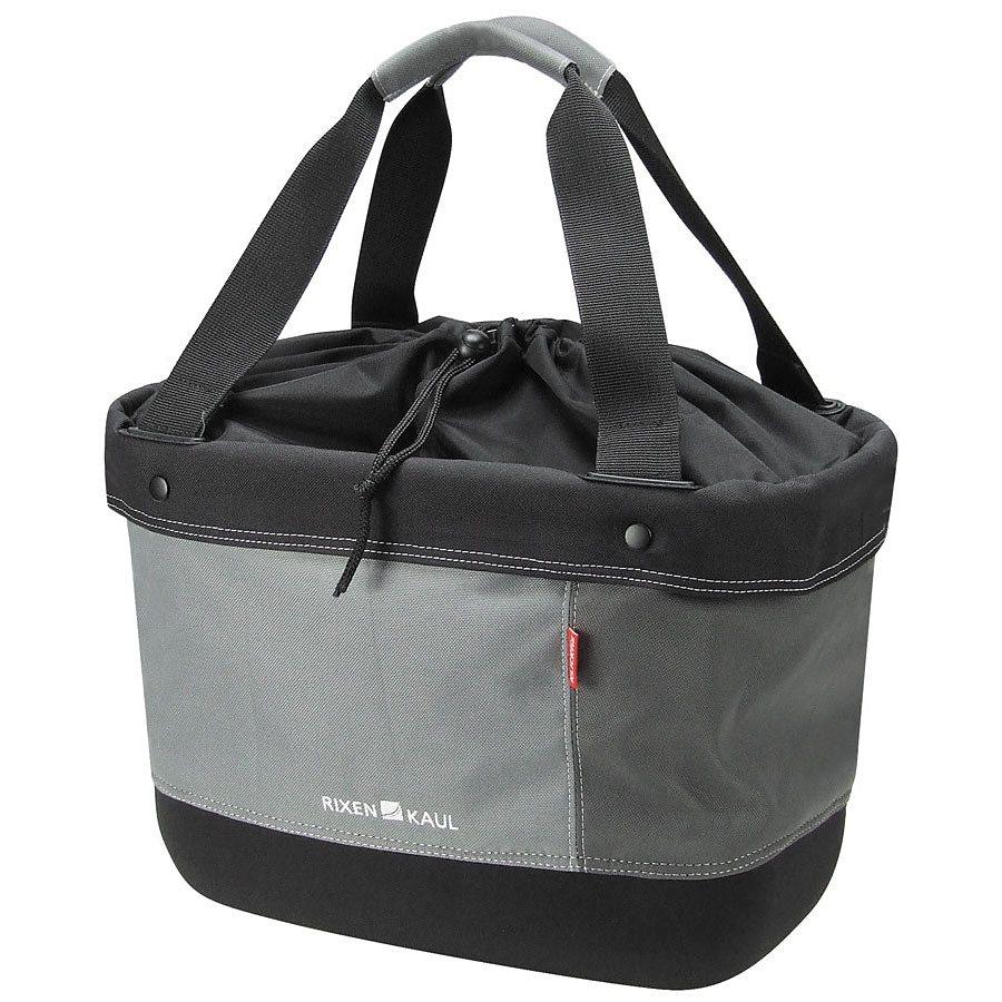 KlickFix Gepäckträgertasche »Shopper Alingo grau«