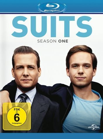 Blu-ray »Suits - Season 1 (4 Discs)«
