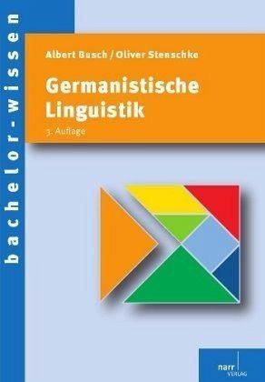 Broschiertes Buch »Germanistische Linguistik«