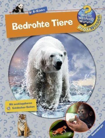 Gebundenes Buch »Bedrohte Tiere / Wieso? Weshalb? Warum? -...«