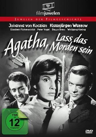 DVD »Agatha, lass das Morden sein«