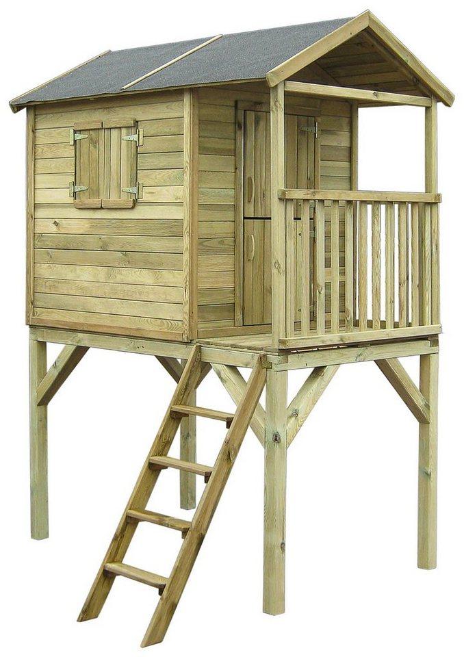 Dein Spielplatz Spielhaus, »Kinderhaus Fin auf Stelzen«