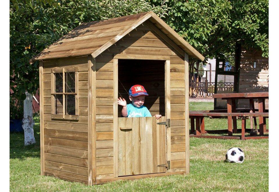 Dein Spielplatz Spielhaus aus Holz, »Kinderhaus Mirko«