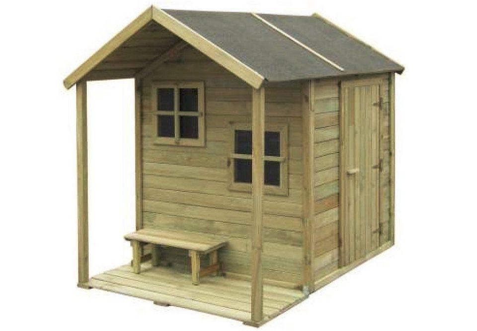 Dein Spielplatz Spielhaus aus Holz »Kinderhaus Charlotte«