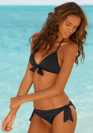 Venice Beach Triangel-Bikini mit Zierschleife am Top