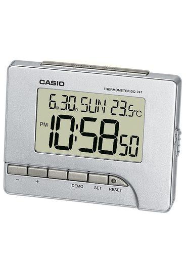 CASIO Quarzwecker »DQ-747-8EF« mit Thermometer (0°/+40°C)
