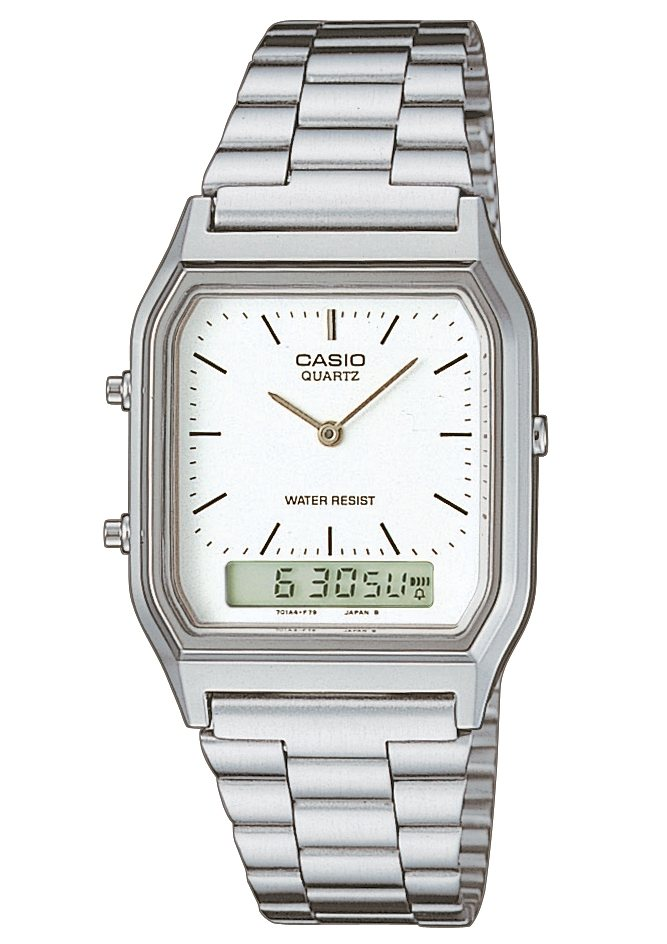 Casio Collection Chronograph »AQ-230A-7DMQYES« in silberfarben