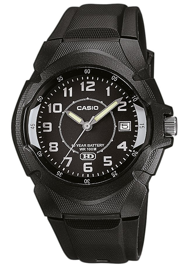Casio Collection Quarzuhr »MW-600B-1BVEF« in schwarz