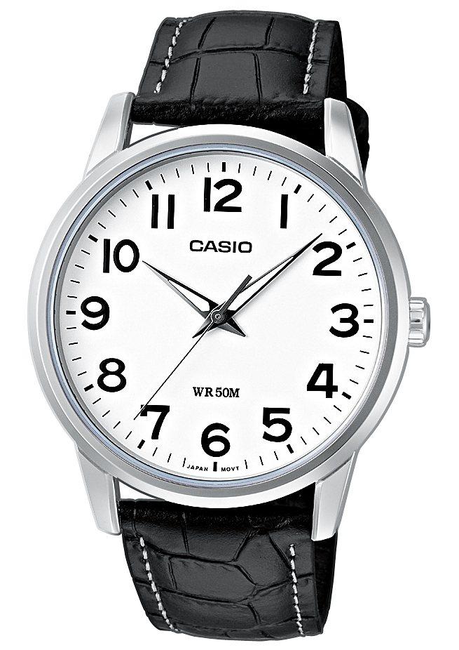 Casio Collection Quarzuhr »MTP-1303PL-7BVEF« in schwarz
