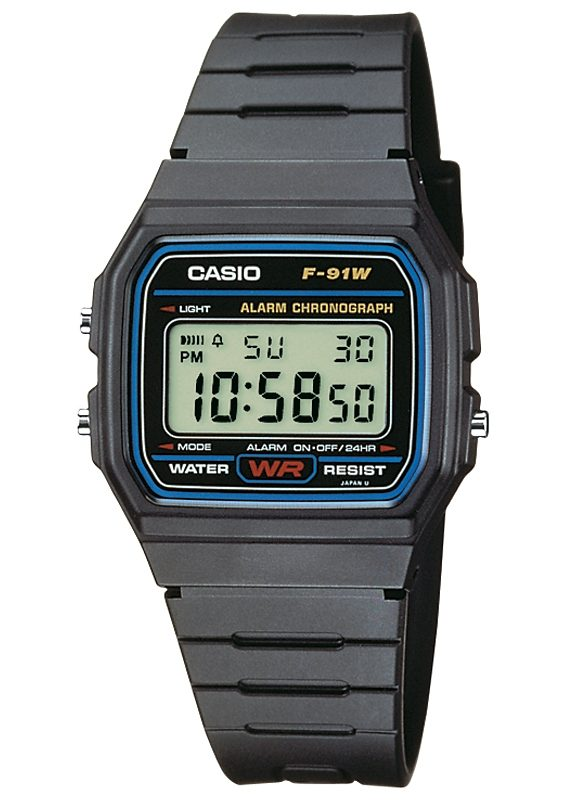 Casio Collection Chronograph »F-91W-1YEF«
