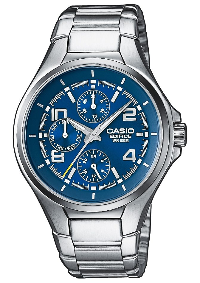 "Casio Edifice, Multifunktionsuhr, ""EF-316D-2AVEF"""