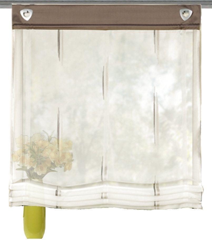 raffrollo charlotte home wohnideen mit sen ohne bohren online kaufen otto. Black Bedroom Furniture Sets. Home Design Ideas