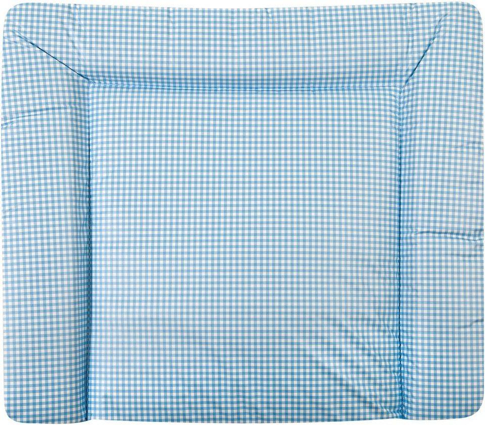 Wickelauflage, »Softy Vichy«, Zöllner in blau