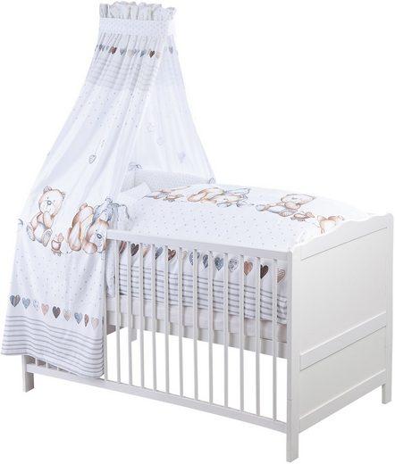 Bett-Set, »Schmusebär«, Zöllner, normal, Material Füllung: Kunstfaser